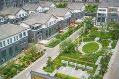 Villa. Beijing luxury villas residential area Royalty Free Stock Photo