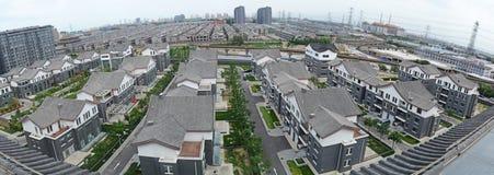 Villa. Beijing luxury villas residential area Stock Images