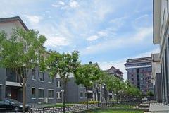 Villa. Beijing luxury villas residential area Royalty Free Stock Photos