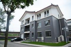 Villa. Beijing luxury villas residential area Royalty Free Stock Images