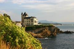 Villa Belza Biarritz Stock Image