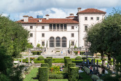Villa Biscaye in Miami, Florida Royalty-vrije Stock Afbeeldingen