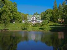 Villa Björkås Royalty Free Stock Photos