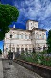 Villa Borghese. In Rome, Italy royalty free stock photos