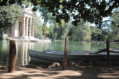 Villa borghese. Ancient monument by day in Rome Royalty Free Stock Photography