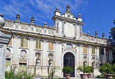Villa Borghese. Beautiful building insiide the Villa Borghese, Rome, Italy stock photos
