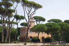 Villa Borghese Royalty Free Stock Photo