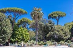 Villa Borghese de parc à Rome photos stock