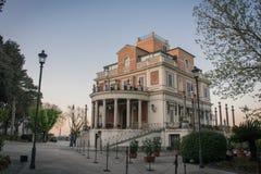 villa borghese de Rome Photos libres de droits
