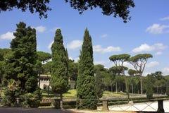 Villa Borghese gardens, Rome Royalty Free Stock Image