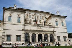 Villa Borghese in Rome Royalty Free Stock Photo