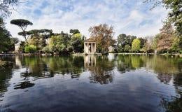 Villa Borghese, Rome, Italië. Royalty-vrije Stock Fotografie