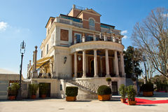 Villa Borghese in Rome, Italy. Historical monument Villa Borghese in Rome, Italy royalty free stock image