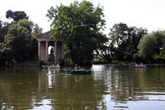 Villa Borghese in Rome, Italy Royalty Free Stock Images