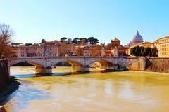 Tiber Rome Stock Photo