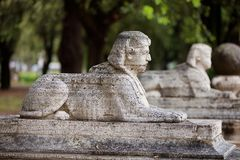 Villa Borghese Rome Stock Photos