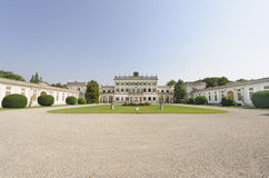 Villa Borromeo at Cassano d'Adda (Milan) Royalty Free Stock Images