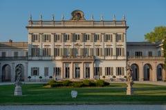Villa Borromeo fotografering för bildbyråer
