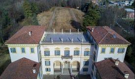 Villa Borromeo and park, Senago, Italy Stock Photography