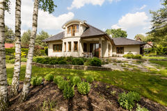 Villa on the bosom of nature Stock Images