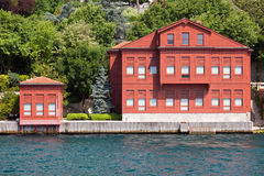 Villa on the Bosphorus Strait Royalty Free Stock Images