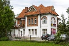 Villa built in 1913 for Dr. Rozycki in Zakopane Stock Photo