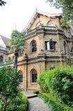 Villa in the bush. Welcome channel in villa, shanghai Royalty Free Stock Photography