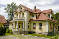 Villa called Boryna in Zakopane Royalty Free Stock Photo