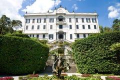 Villa Carlotta, Como Lake, Italy Stock Images