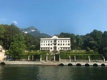 Villa Carlotta facade Royalty Free Stock Photography