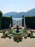 Villa Carlotta garden Stock Images