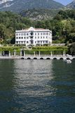 Villa Carlotta, lac Como, Italie Photographie stock