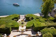 Villa Carlotta, Lake Como, Italy Royalty Free Stock Photos