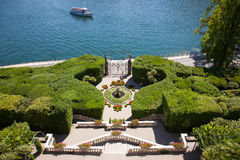 Villa Carlotta, Lake Como, Italy Royalty Free Stock Images