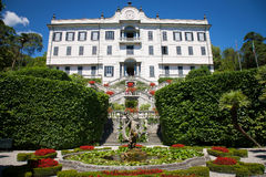 Villa Carlotta, Lake Como, Italy royalty free stock photography