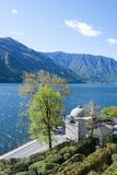 Villa Carlotta, Lake Como, Italy. View of Villa Carlotta garden, Lake Como, Italy royalty free stock photos