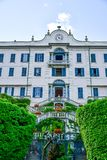 Villa  Carlotta near  Garda lake , Italy Royalty Free Stock Photography