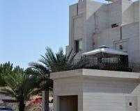 Villa carrée de balcon de belvédère Photographie stock libre de droits