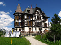 Villa Cassel, Riederalp, Suisse photo stock