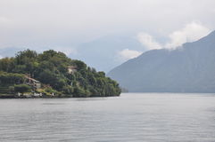 Villa Cassinella at  lake como Italy Royalty Free Stock Photography