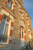 Villa Catherine Vannes Brittany France Stock Photo