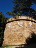 Villa Cavallotti, marsala, Sicilien, Italien Royaltyfri Foto