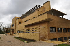 Villa Cavrois, modernist architecture, Roubaix, France. The modernist villa Cavrois in Roubaix, Northern France. Modern architecture of the late twenties. View Royalty Free Stock Image