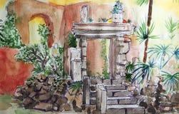 Villa Celimontana illustration Stock Photos