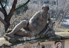 Villa celimontana statue Stock Photo