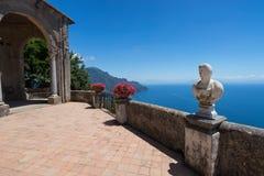 Villa chimbrone view Stock Photo