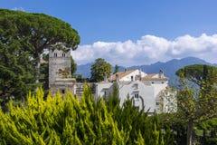 Villa Cimbrone nella costa di Ravello Amalfi Fotografia Stock