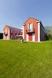 villa in classic style Stock Photos