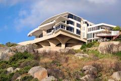 Villa on the cliff royalty free stock photo
