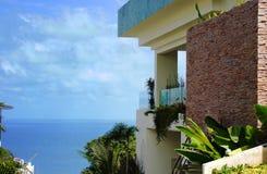 Villa on the coast Royalty Free Stock Photo